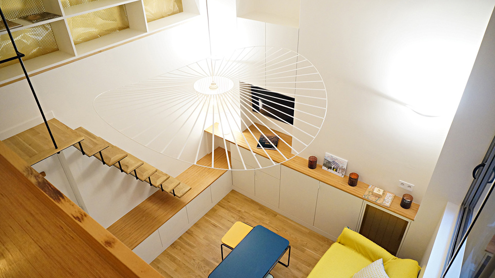 Petit pari architecte paris 18 me bardin architecte architecture int ri - Architecte interieur paris petite surface ...