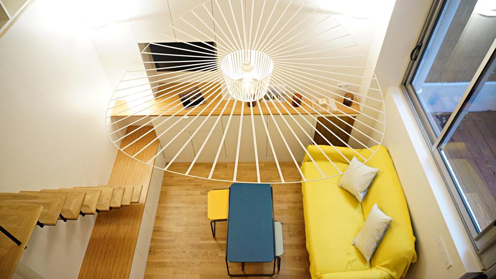 hauteur sous plafond mezzanine img lit comment profiter de la hauteur sous plafond pour creer. Black Bedroom Furniture Sets. Home Design Ideas