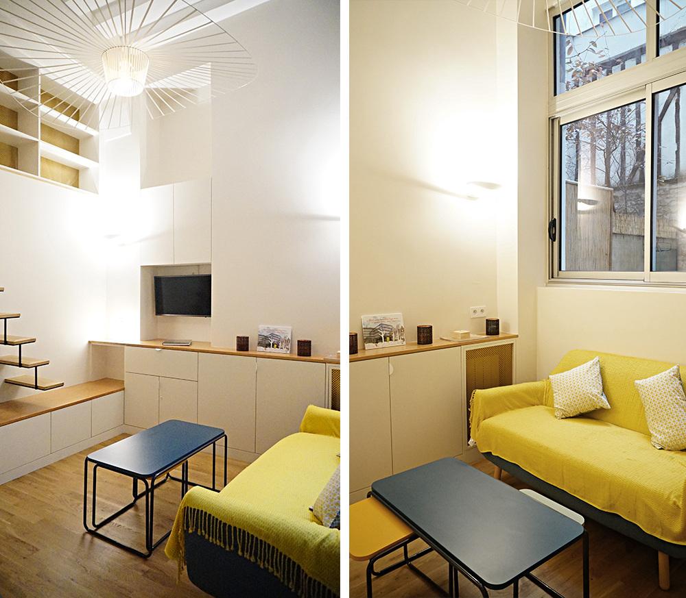 petit pari architecte paris 18 me bardin architecte architecture int rieur paris. Black Bedroom Furniture Sets. Home Design Ideas