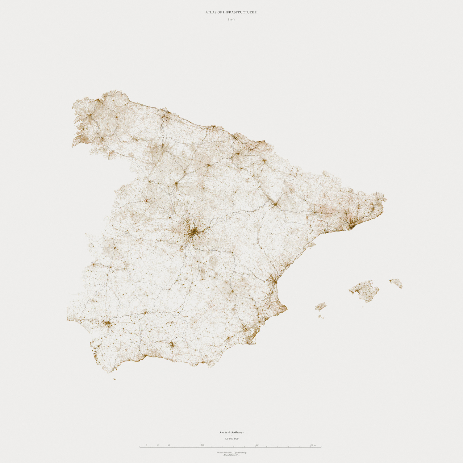 Muriz Djurdjevic and Thomas Paturet, ATLAS OF PLACES. Atlas of Infrastructure I&II. Spain